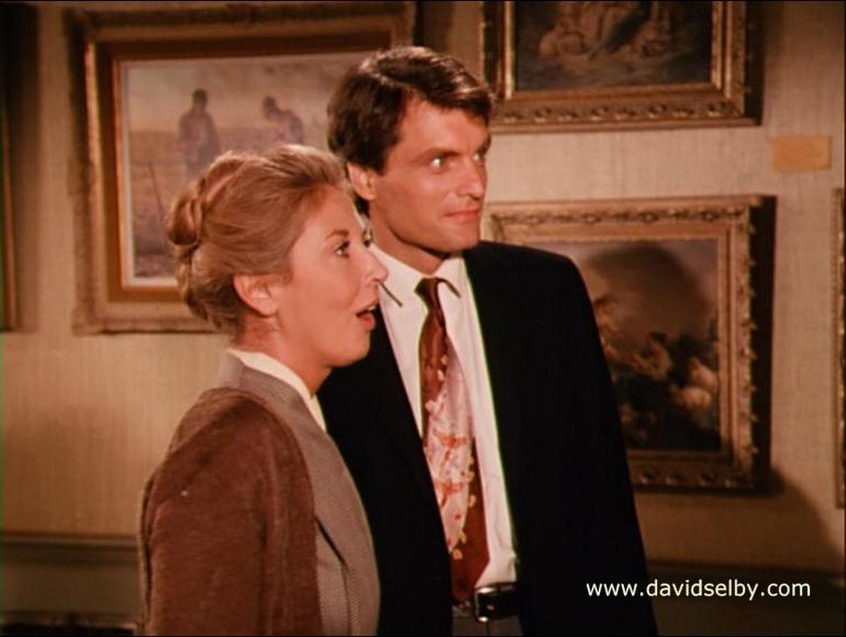 "Michael Learned and David Selby in ""The Romance"""